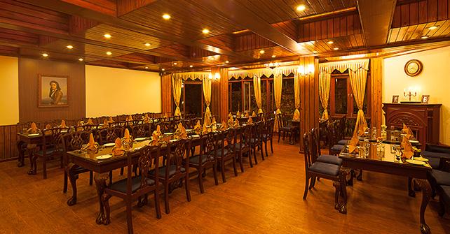 Dining Sinclairs Darjeeling Sinclairs Hotels Amp Resorts