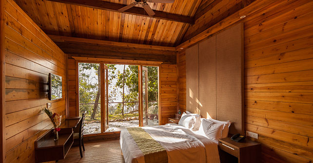Kalimpong Wooden Cottage Room Sinclairs Hotels India